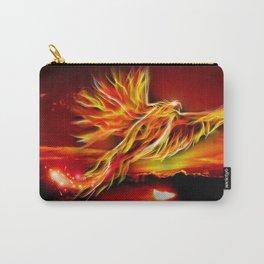 Phoenix Bird Fire Carry-All Pouch