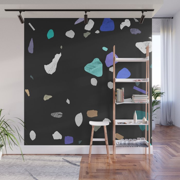 Painted Terrazzo 2 Wall Mural