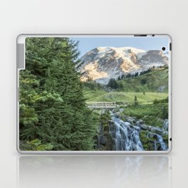 Early Morning at Myrtle Falls Laptop & iPad Skin
