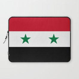 Syrian flag - may PEACE prevail Laptop Sleeve