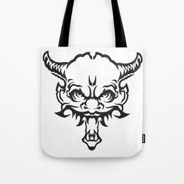 Demon Devil Tote Bag