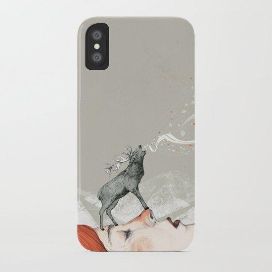 Deer Lady! iPhone Case