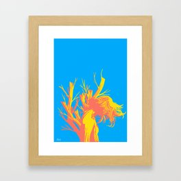 Even if it decays you are beautiful Framed Art Print