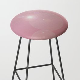 Pinkish Pastel Bar Stool