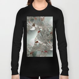 Tangled in the fractal mist Long Sleeve T-shirt