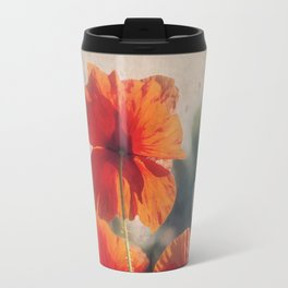 Red Poppies Travel Mug