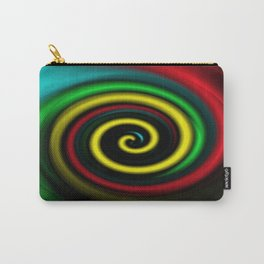 Swirling colours. Carry-All Pouch