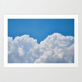 Cloudy Day Art Print