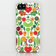 Vegetables tile pattern Slim Case iPhone (5, 5s)