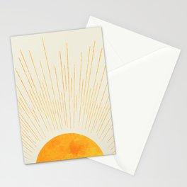 Boho Sunrise  Stationery Cards