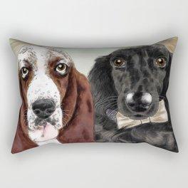 Lola and Tobin Rectangular Pillow