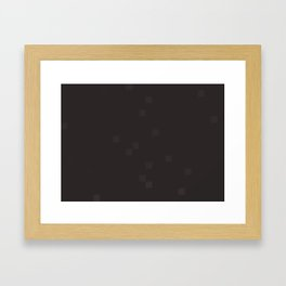ABSTRACT PIXELS #0015 Framed Art Print