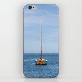 Simple sailboat iPhone Skin