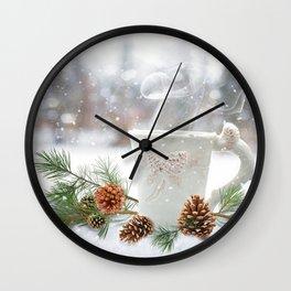 winter warmth Wall Clock