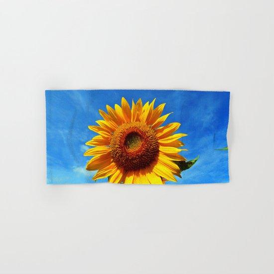 Stunning Sunflower Hand & Bath Towel