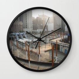 Downtown Seattle Wall Clock