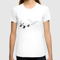 otter T-shirts featuring Otter by 92lk