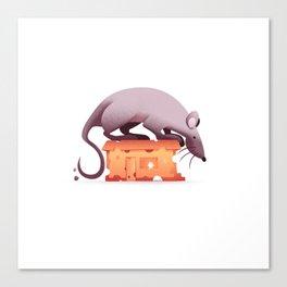 A mouse's house Canvas Print