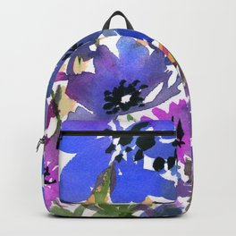 Heavenly Blues and Purples Backpack