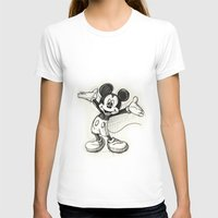 mickey T-shirts featuring Mickey Mouse by Herself