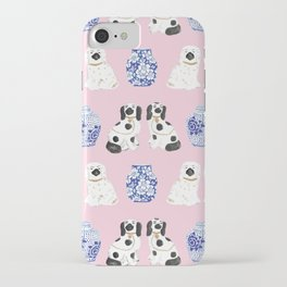 Staffordshire Dogs + Ginger Jars No. 4 iPhone Case