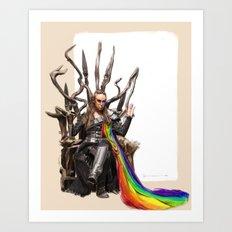 Commander Lexa - The 100 Art Print