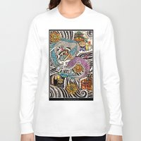 spirited away Long Sleeve T-shirts featuring Spirited Away by alxbngala