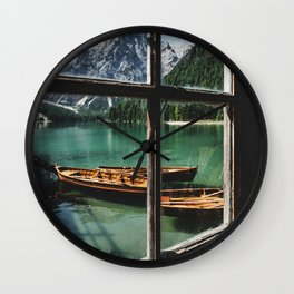 Road Trip 26 - Dolomites Wall Clock