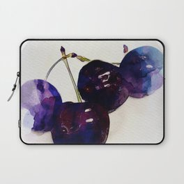 I like cherry - blue fruit Laptop Sleeve