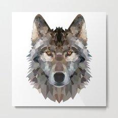 wolf trendy Metal Print