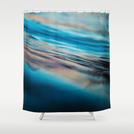 Oily Reflection Shower Curtain