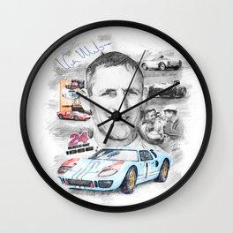 Ken Miles Wall Clock