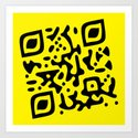 QR Clothes Yellow by stephenlinhart