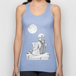 Apollo 11 galaxy Unisex Tank Top