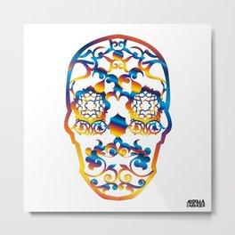 00 - COPERNICUS SKULL Metal Print