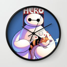 Baymax - Big Hero 6 Wall Clock