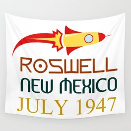 Roswell New Mexico july 1947 Wall Tapestry