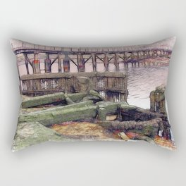 New for Old Rectangular Pillow