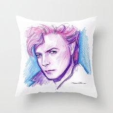 Darling David Throw Pillow