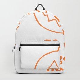 go big or gourd home seasonal pun Backpack