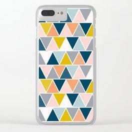 Triangulum Retreat Clear iPhone Case