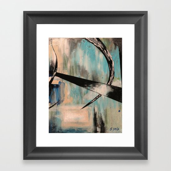Blue Part 2 Framed Art Print