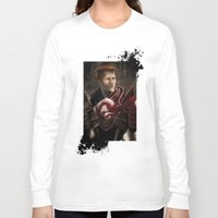 "dragon age inquisition Long Sleeve T-shirts featuring Krem - Dragon Age/Mass Effect crossover by Barbara ""Yuhime"" Wyrowińska"