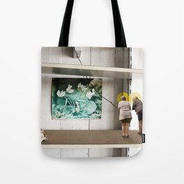 Face the Future Tote Bag