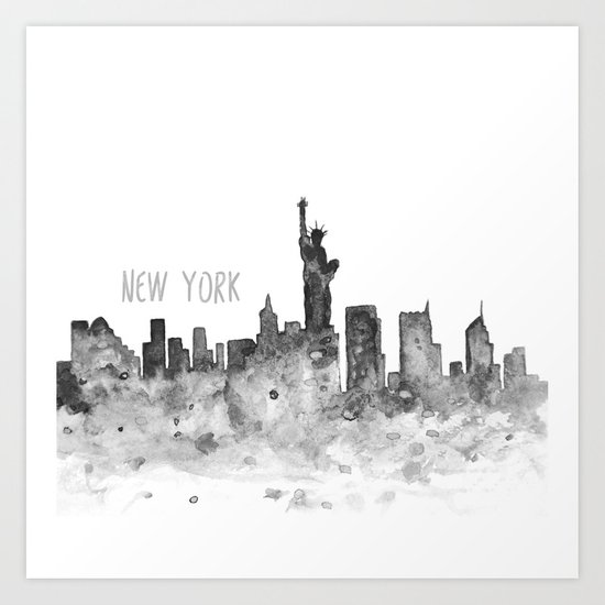 New York art Art Print