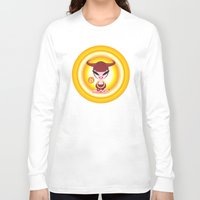 taurus Long Sleeve T-shirts featuring Taurus by HanYong