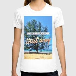 Tree On Seaside T-shirt