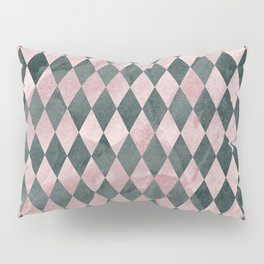 Marble Harlequin Pillow Sham