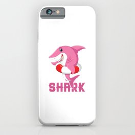 Gramma Shark Doo Doo Doo Funny Aquamarine Ocean Sea Creature Sharks iPhone Case