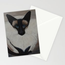 The Siamese Cat Stationery Cards